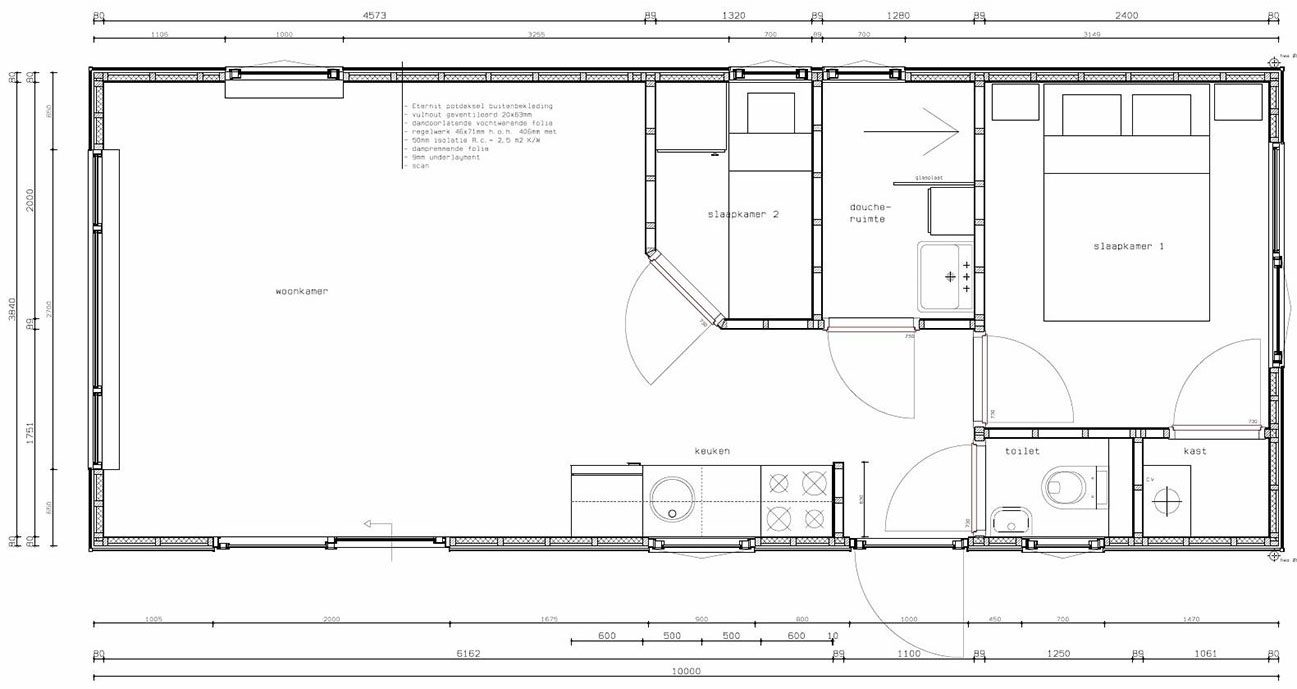 Douche In Slaapkamer Bouwen : Wilt u een chalet laten bouwen?